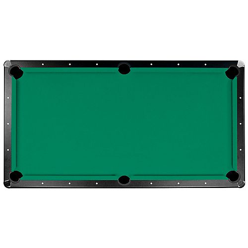 Championship Saturn II 7 ft. Billiard Cloth Pool Table Felt in Green