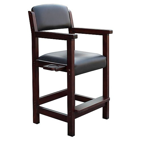 Hathaway Cambridge Spectator Chair in Rich Mahogany Finish
