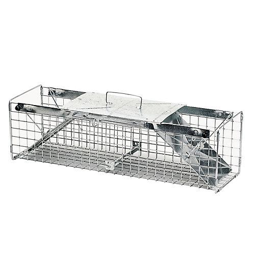 24-inch x 7-inch x 7-inch 2-Door Large Rabbit Trap