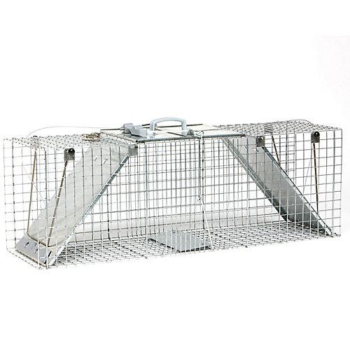 EZ Set 13-inch x 37-inch x 15-inch 2-Door Large Animal Trap