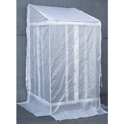 4 ft. x 4 ft. Entranceway Shelter with Clear Roof