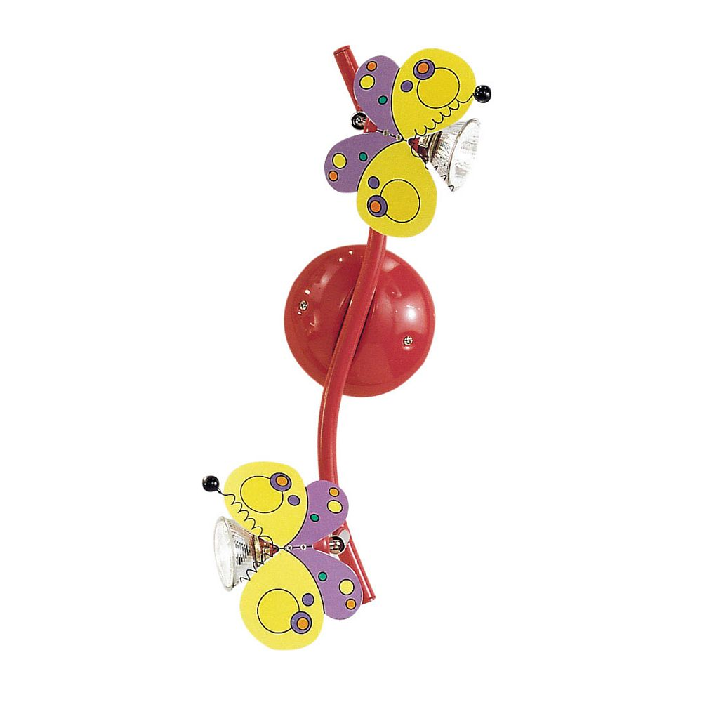 Eglo Harry Butterfly Track Light 2l, Multi-Colored Finish