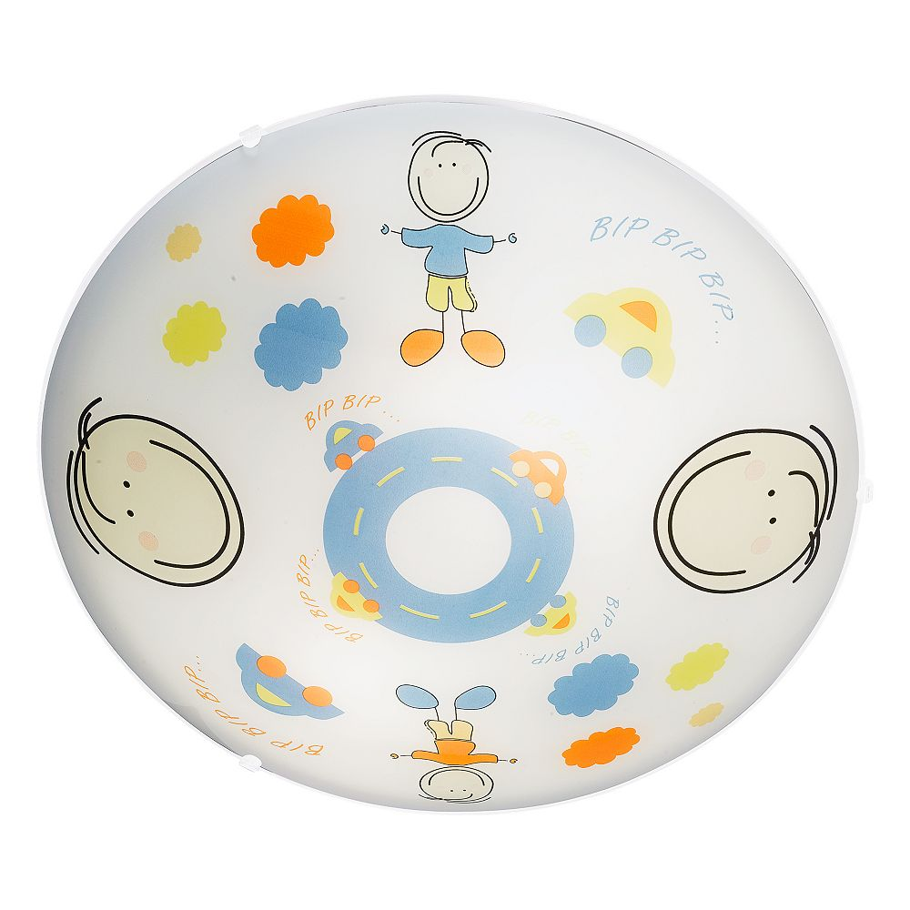 Eglo Junior 2 Ceiling Light 2l, Multi-Colored Finish