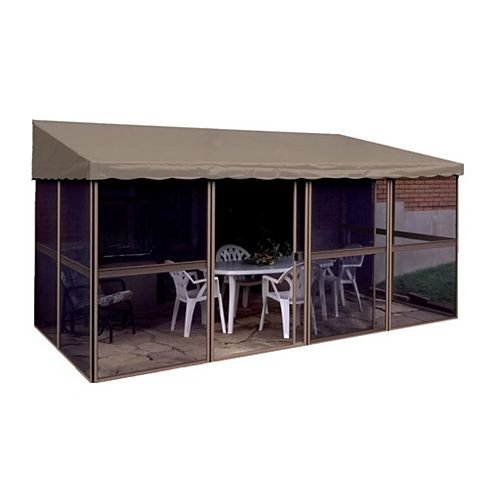7 ft. 6-inch x 15 ft. 1-inch Add-a-Room Solarium in Sand/Taupe