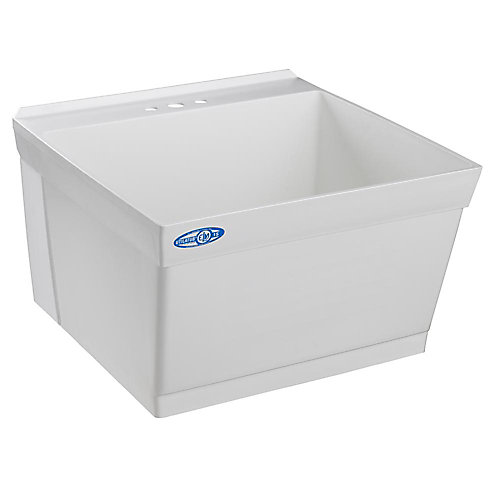 Utilatub Laundry Tub Single Wall