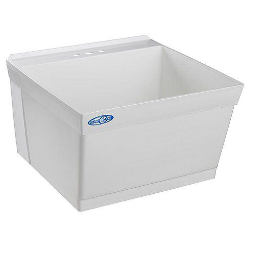 Utilatub Laundry Tub Single Wall
