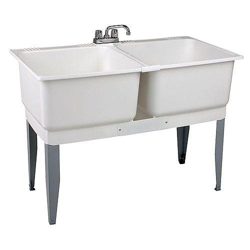 46-inch x 34-inch Plastic Laundry Tub