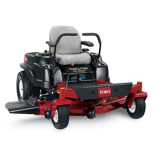 TimeCutter MX5050 50-inch Fab 24 HP V-Twin Zero-Turn Riding Mower with Smart Speed