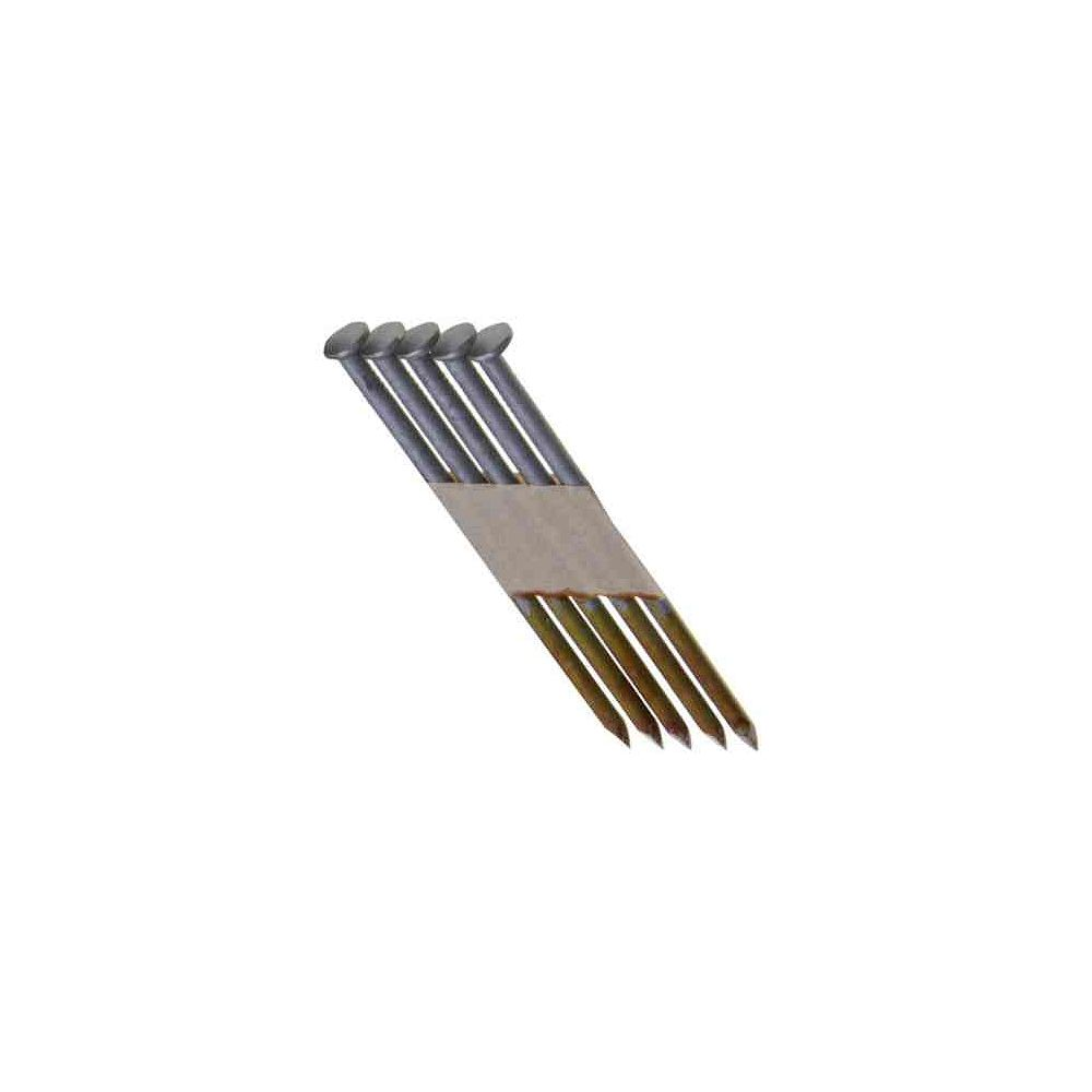 Grip-Rite 3-1/4 Inch x 0.131 Inch 30 Degree Hot Dipped Galvanized Smooth Shank Nails (4,000-Pack)
