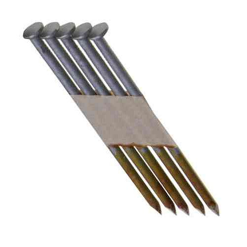 3-1/4 Inch x 0.131 Inch 30 Degree Hot Dipped Galvanized Smooth Shank Nails (4,000-Pack)