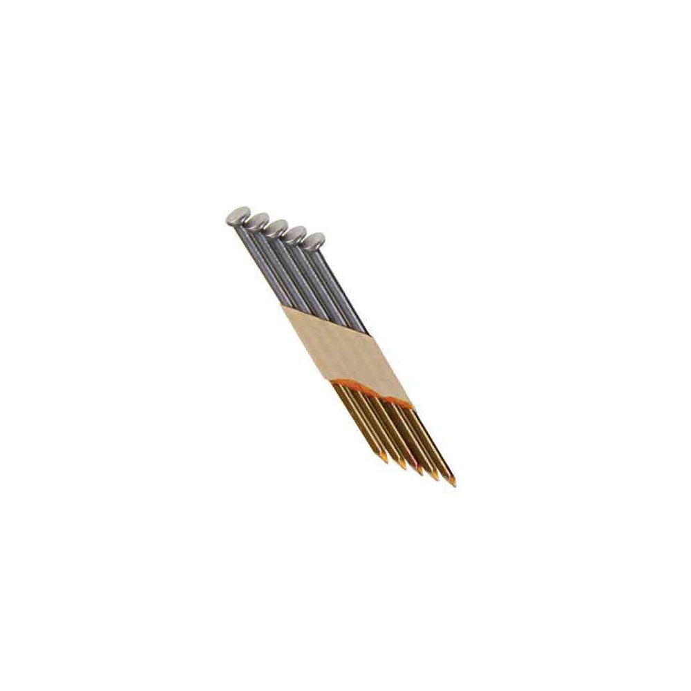 Grip-Rite 3 Inch x 0.120 Inch 30 Degree Bright Smooth Shank Nails (4,000-Pack)