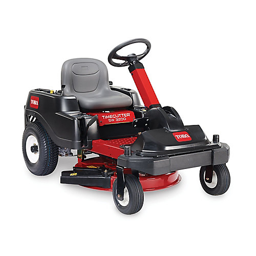 TimeCutter SW3200 32-inch 452cc Zero-Turn Riding Mower with Smart Park