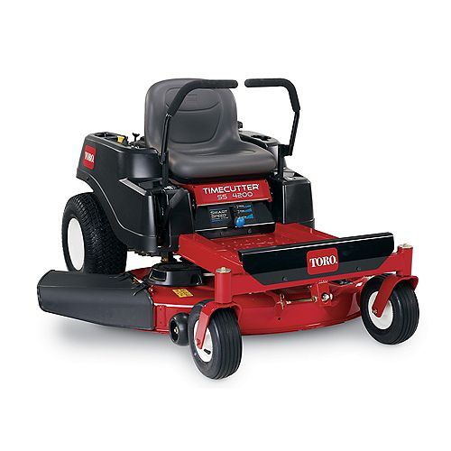 TimeCutter SS4200 42-inch 452cc Zero-Turn Riding Mower with Smart Speed