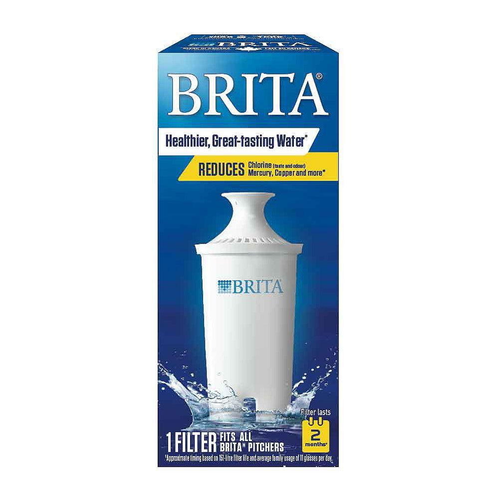Brita Filtre de remplacement pour système de filtration en pichet, 1 unité