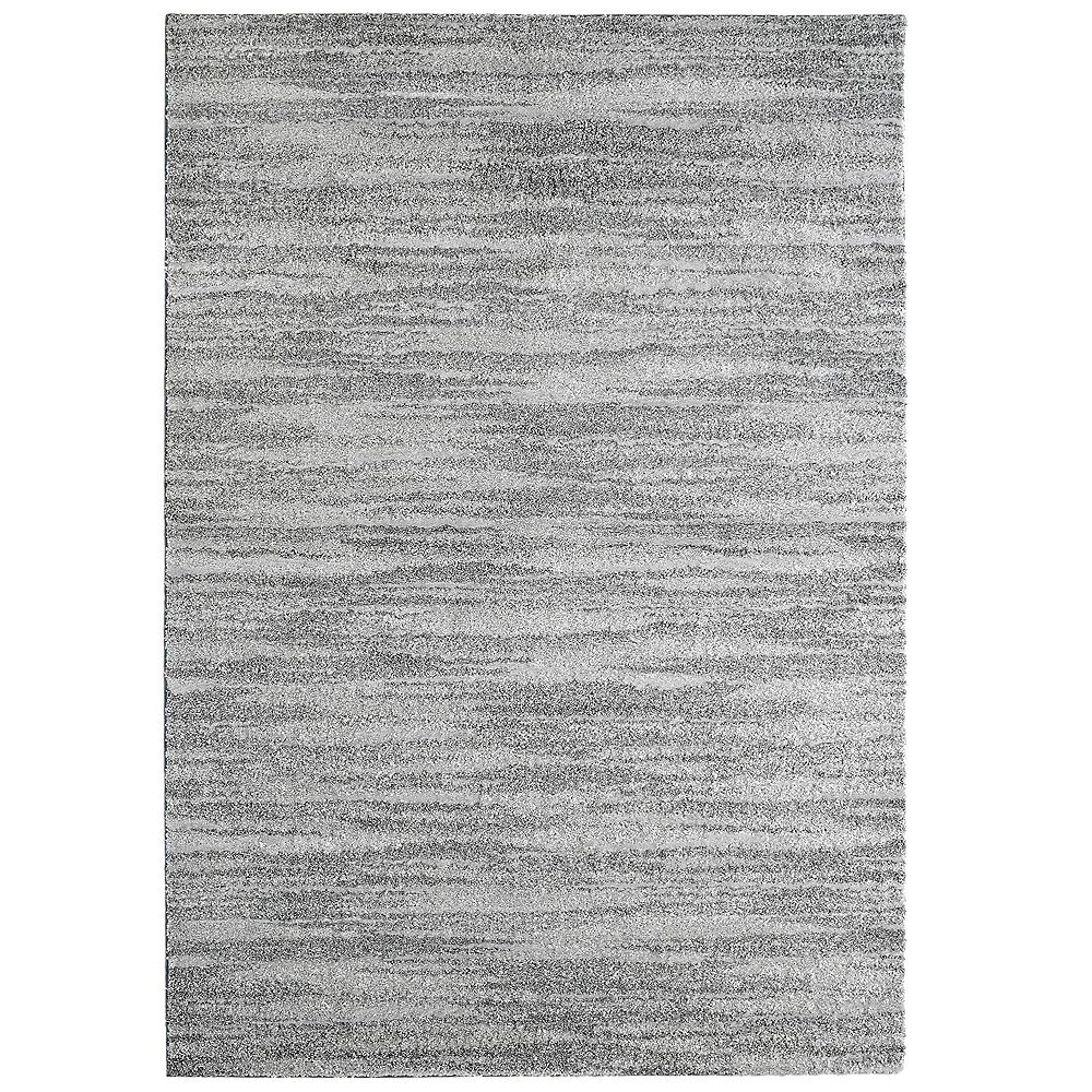Lanart Rug Scandinavia Grey 3 ft. x 4 ft. 6-inch Indoor Contemporary Rectangular Mat