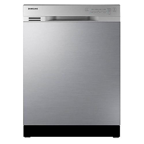 24-inch Front Control Dishwasher in Stainless Steel with Stainless Steel Tub - ENERGY STAR®
