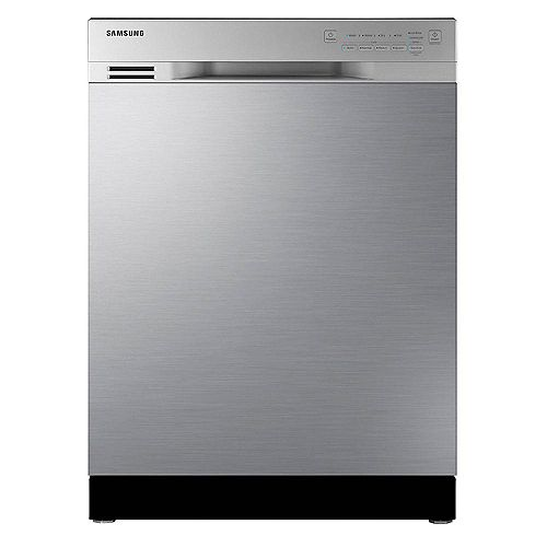 24-inch Front Control Dishwasher in Stainless Steel with Stainless Steel Tub - ENERGY STAR®, 50 dPA