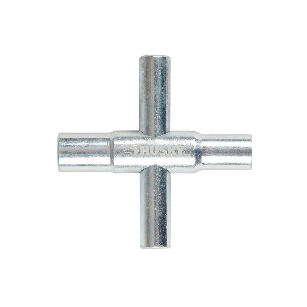 HDX 4-Way Sillcock Key