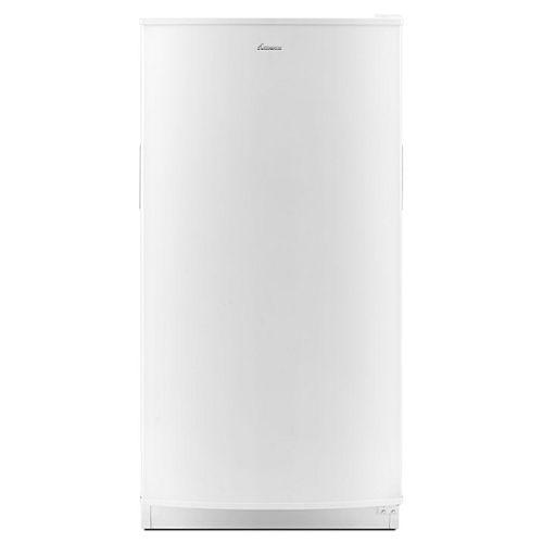 Congélateur vertical W 18 pi. cu. 30 po. en blanc