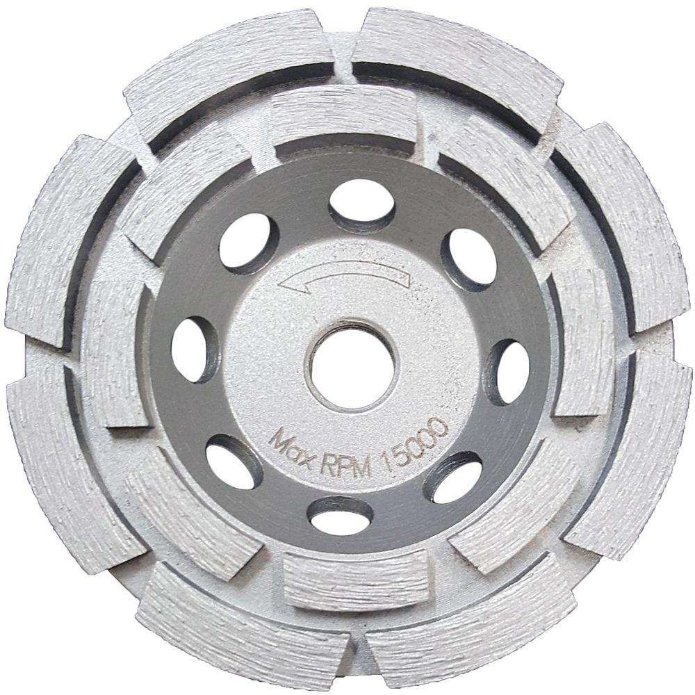 RIDGID 4 Inch Double Row Cup Wheel