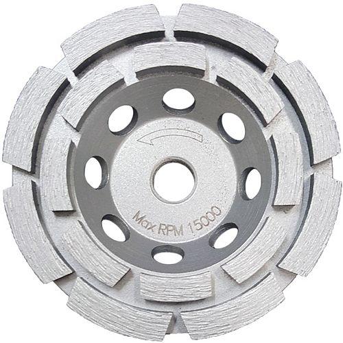 4 Inch Double Row Cup Wheel