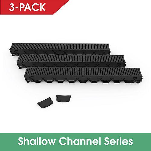 Storm Mate 3Pc Low Profile Channel Drain Kit