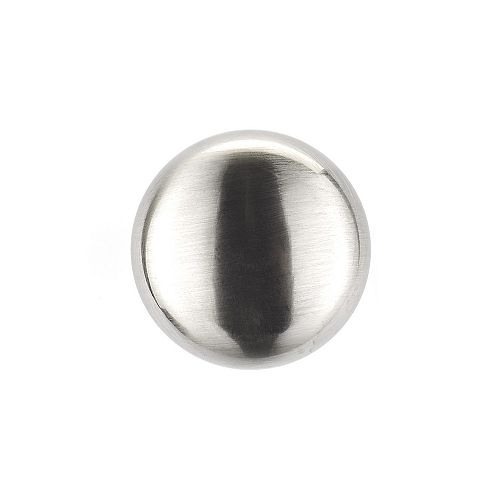 Richelieu Metal Knobs 1 1/4 inch. (32 mm) Dia - Brushed Nickel - Buffalo Collection (30-Pack)