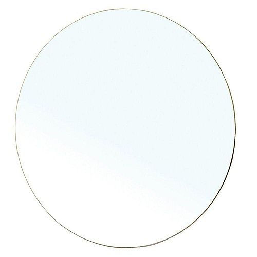 Belarus 23 In. L X 23 In. W Round Wall Mirror
