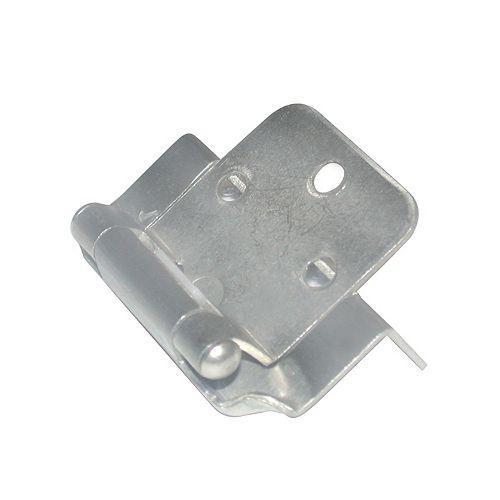Hinges 5/8 inch Overlay Brushed Nickel (60-Pack)