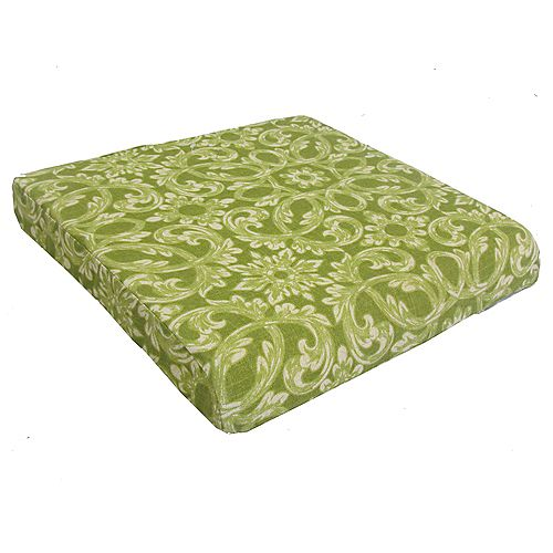 Outdoor Seat Cushion in Green