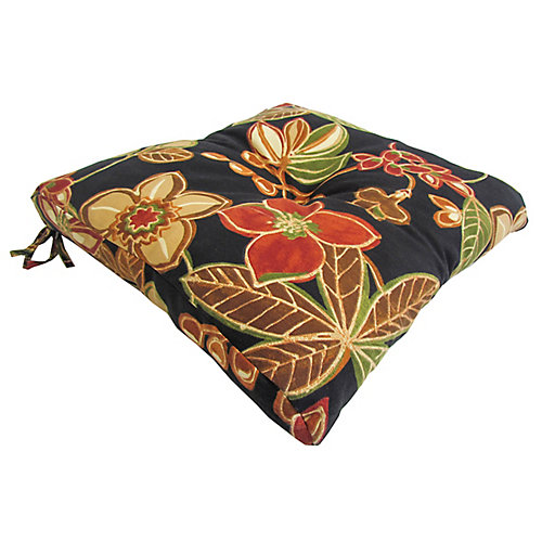 Outdoor Seat Cushion in Multi-Colour Floral