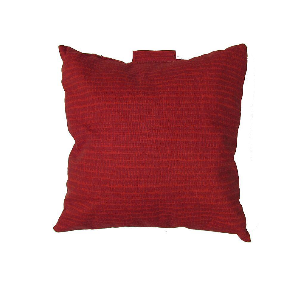 Bozanto Inc. Toss Cushion in Red