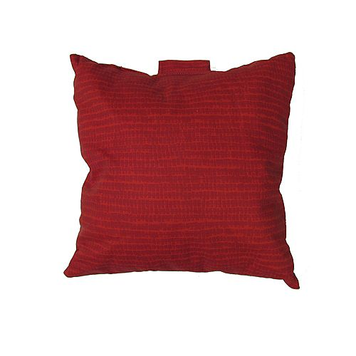 Toss Cushion in Red