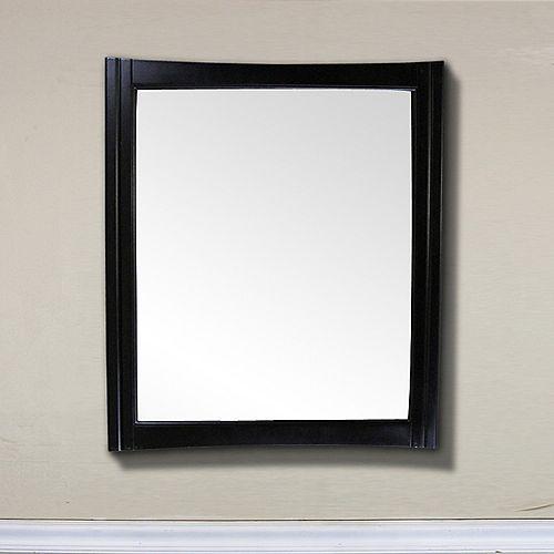 Miroir en bois de 32 po