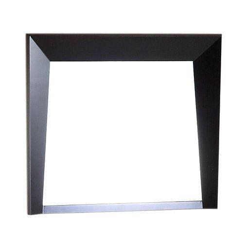 Bellaterra Miroir en bois de 30 po