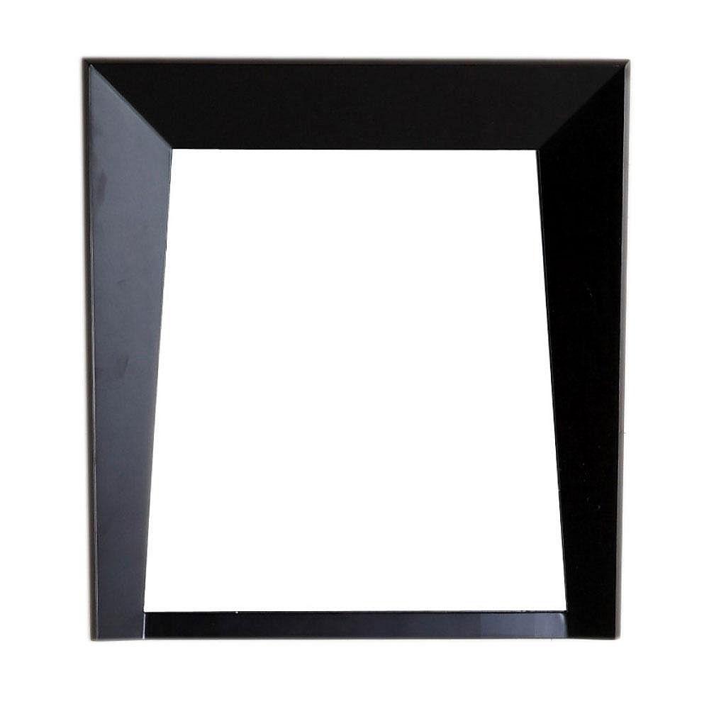 Bellaterra Cloverdale 24-inch W x 2.8-inch D x 26-inch H Single Framed Wall Mirror in Dark Espresso