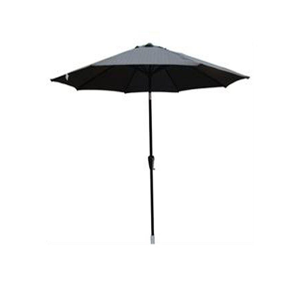 Henryka 9 ft. Market Umbrella in Black