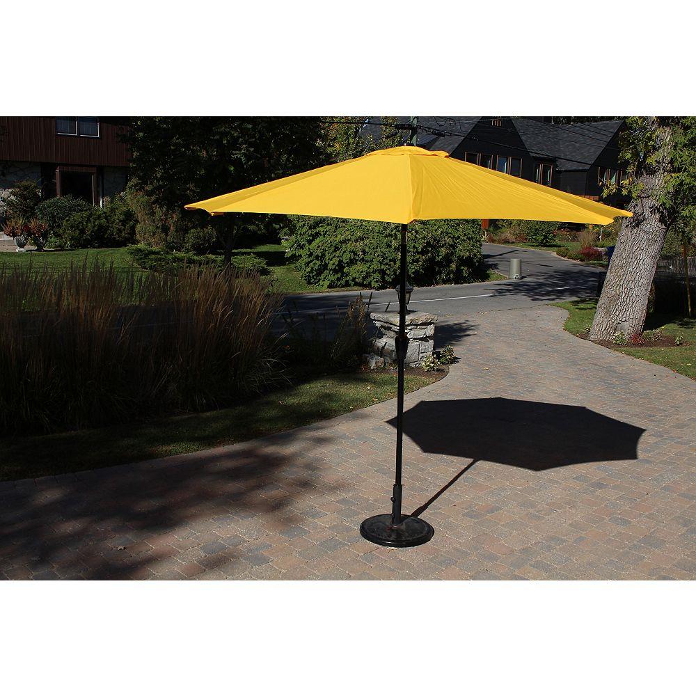 Henryka 9 ft. Market Umbrella in Yellow