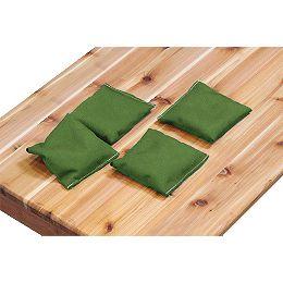 Ensemble de 4 poches, vert