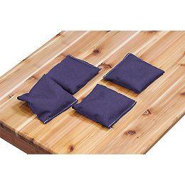 Ensemble de 4 poches, violet