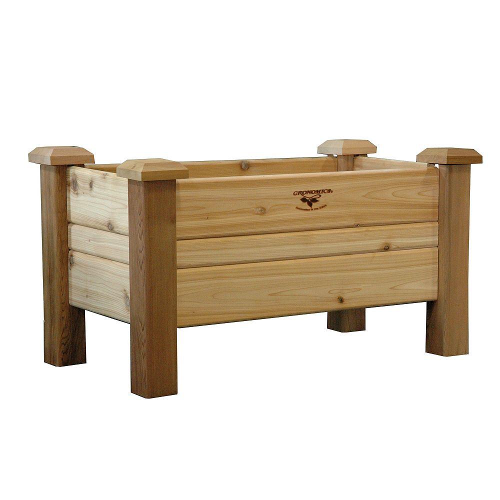 Gronomics 18-inch x 34-inch x 19-inch Planter Box