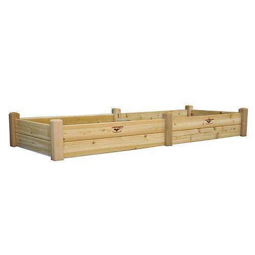 Planche de jardin, 34 x 95 x 13po