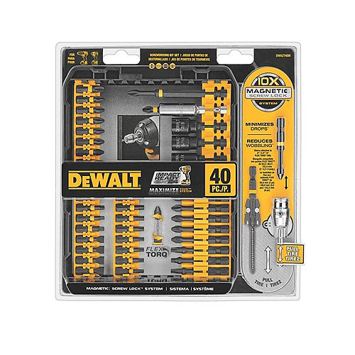 Flex Torq Screwdriving Bit Set (40-Piece)