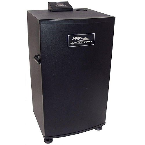 30-inch Electric Digital Smokehouse in Black
