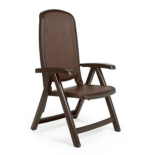 Café Delta 5-Position Patio Folding Chair