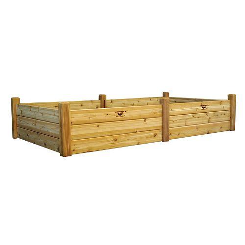 Planche de jardin, 48 x 95 x 19po