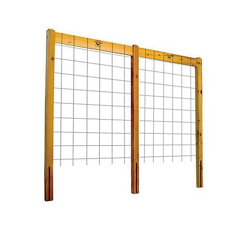 Treillis pour planche de jardin, 95 x 80po