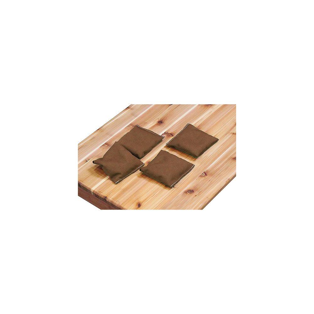 Gronomics Brown Bean Bags (4-Pack)