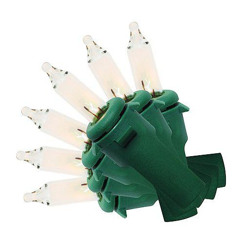 Guirlande lumineuse à 200 mini-ampoules, blanc