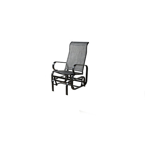 Bahia Patio Rocking Chair in Charcoal
